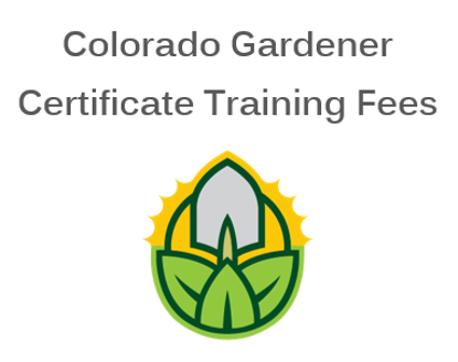 Picture of Douglas County 2021 Colorado Gardener Certificate Training Fees