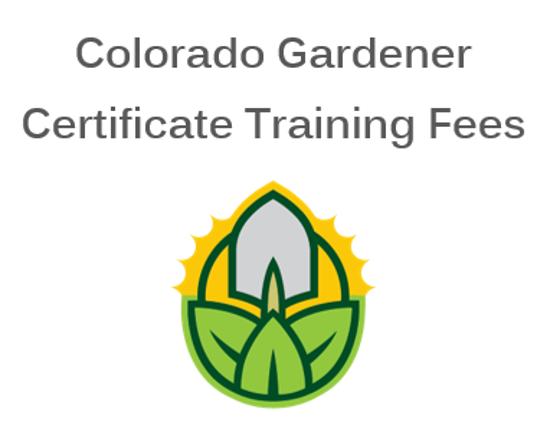 Picture of Douglas County 2021 Colorado Gardener Certificate Training Fees