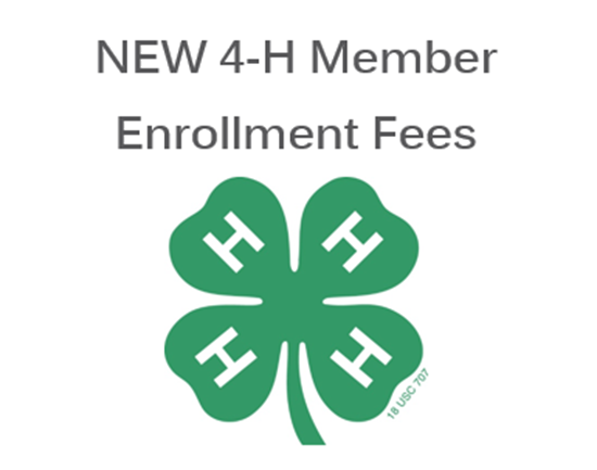 Picture of Douglas County NEW 4-H Member Enrollment Fees