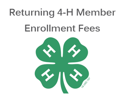 Picture of Douglas County Returning 4-H Member Enrollment Fees