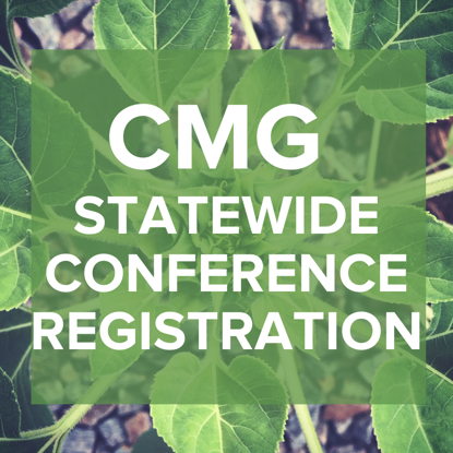 Picture of CMG Statewide Conference  >> October 16 & 17, 2020